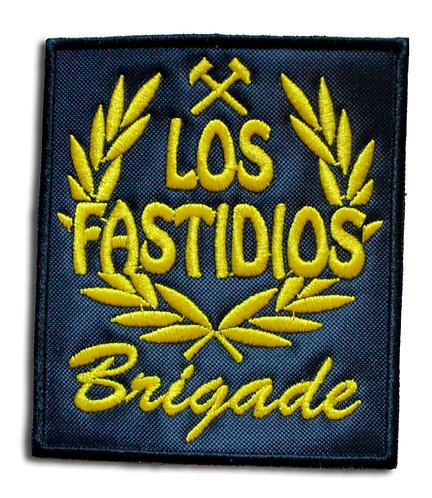 LOS FASTIDIOS BRIGADE Black/Yellow - Patch / Toppa