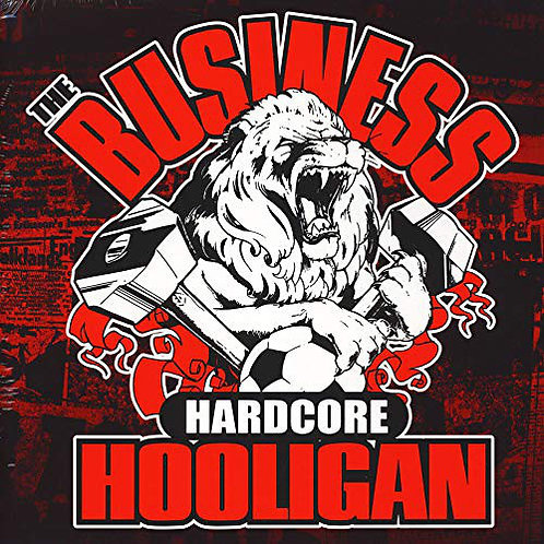 BUSINESS (THE) - Hardcore Hooligan LP (Red)