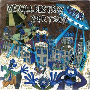 "SEMPREFRESKI / MERRYGOROUND - We Will Destroy Your Town EP 7"""
