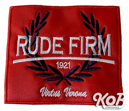 RUDE FIRM Patch / Toppa