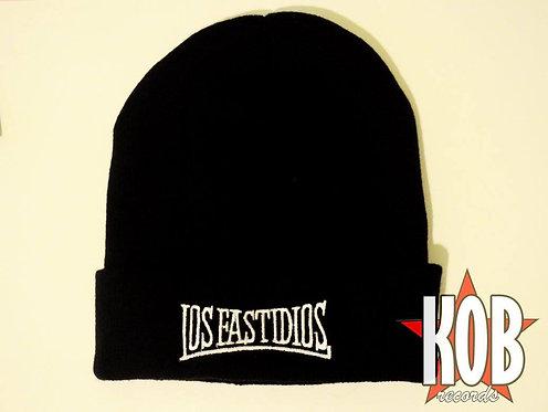 LOS FASTIDIOS Black Winter Cap