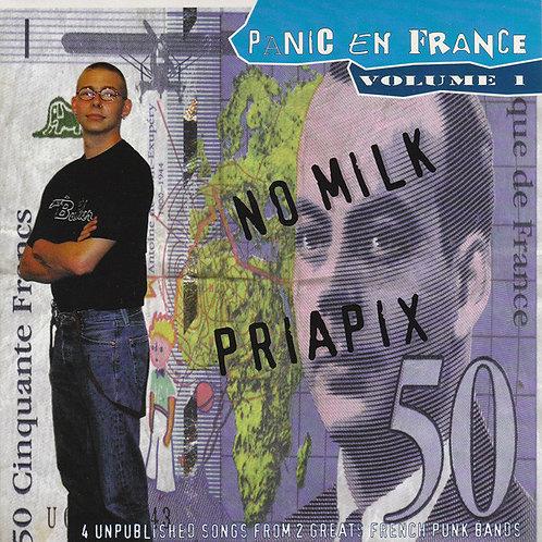 "NO MILK / PRIPIX - Panic En France Volume 1 EP 7"""
