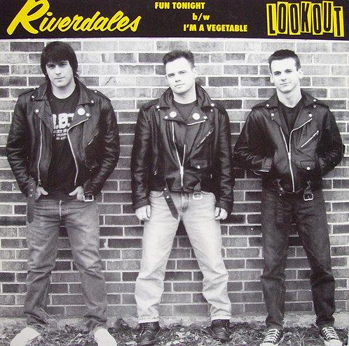 "RIVERDALES - Fun Tonight / I'm A Vegetable EP 7"""