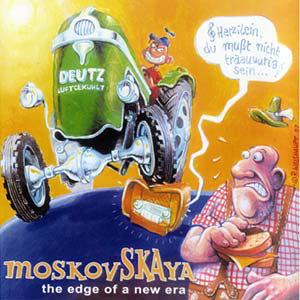 MOSKOVSKAYA - The Edge of a New Era CD