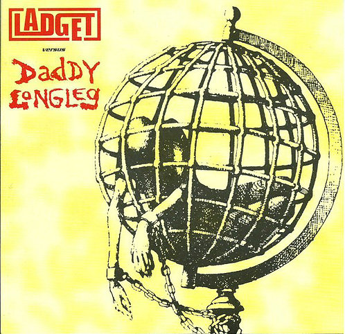 """LADGET / DADDY LONGLEG - Ladget Versus Daddy Longleg EP 7"""""""