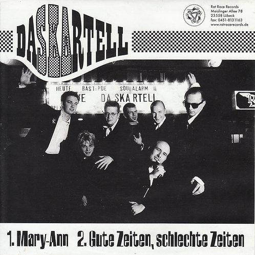 """DASKARTELL / SCHWARZ AUF WEISS - Daskartell / Schwarz Auf Weiß EP 7"""""""