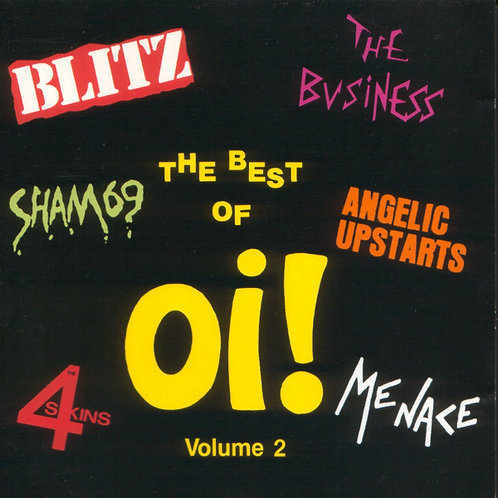 V/A The Best Of Oi! Volume 2 LP+7""
