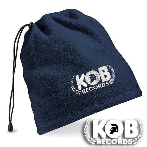 KOB RECORDS Scaldacollo / Neck warmer Blue