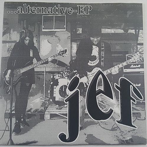 "JEF - ...Alternative - EP 7"" (Blue)"