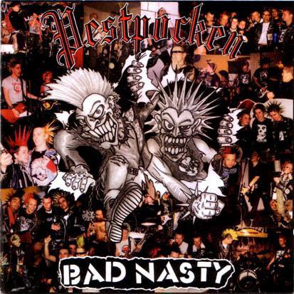 PESTPOCKEN - BAD NASTY - Split LP