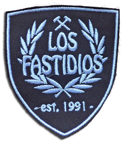 LOS FASTIDIOS Brown/White - Patch / Toppa