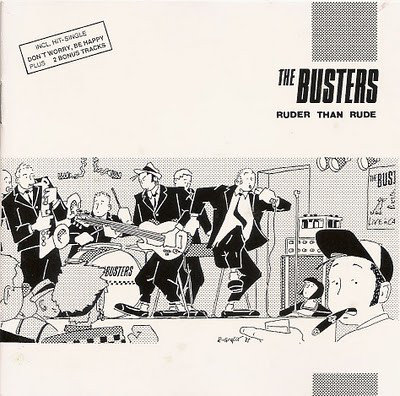 BUSTERS (THE) - Ruder than rude CD