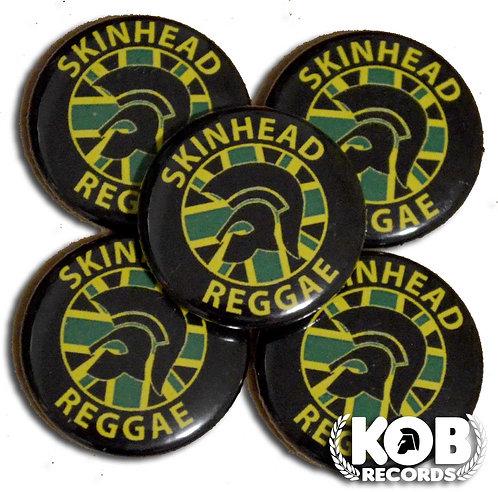 SKINHEAD REGGAE Button