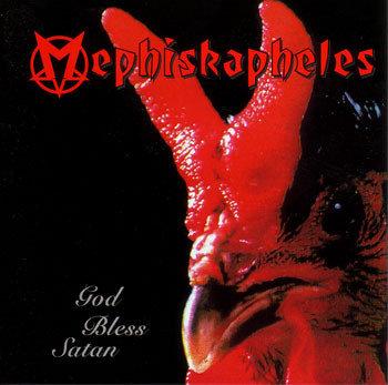 MEPHISKAPHELES - God Bless Satan CD
