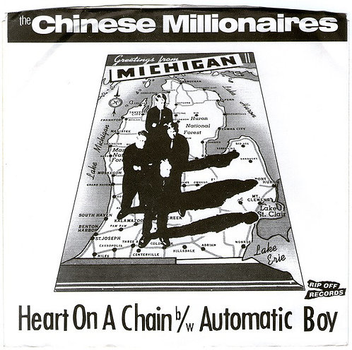 """CHINESE MILLIONAIRES (THE) - Heart On A Chain / Automatic Boy EP 7"""""""