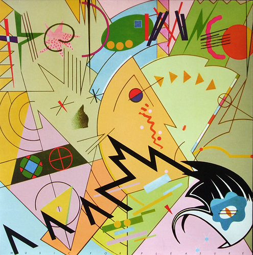 DAMNED (THE) - Music For Pleasure LP 180 gr