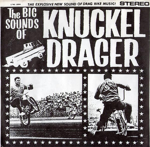 """KNUCKEL DRAGER - The Big Sounds Of... EP 7"""""""