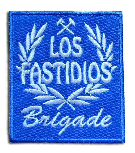 LOS FASTIDIOS BRIGADE Blue/White - Patch / Toppa