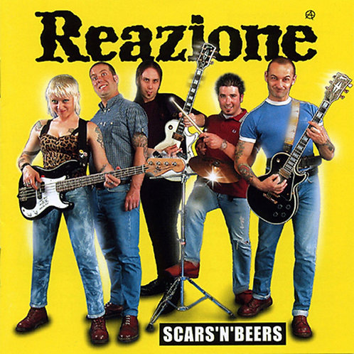REAZIONE - Scars'n'Beers CD