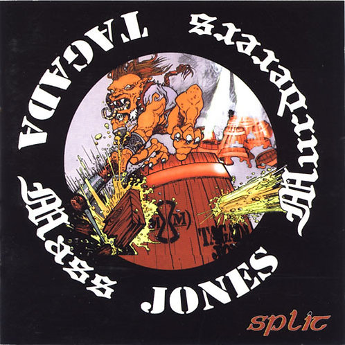 MASS MURDERERS / TAGADA JONES - Split CD