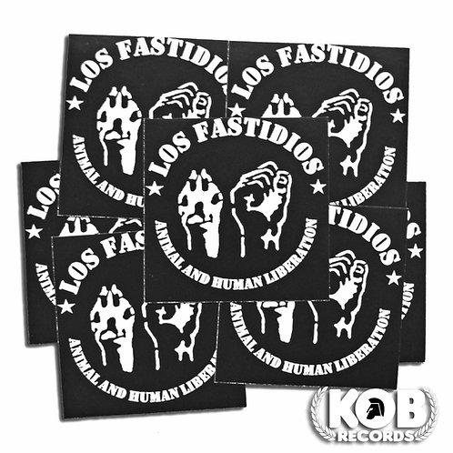 LOS FASTIDIOS Animal Liberation (30 Stickers)