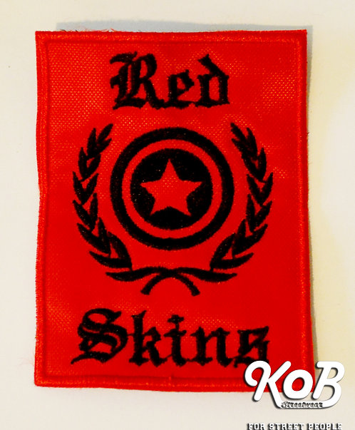 RED SKINS Patch