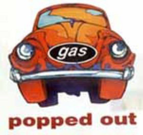 GAS -  Popped Out LP (Clear)