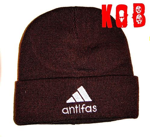 ANTIFAS Brown Winter Cap