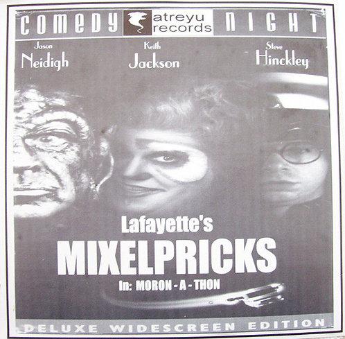 "MIXELPRICKS / PINKY - Pinky '97 / Moron-A-Thon EP 7"""