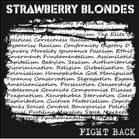 STRAWBERRY BLONDES - Fight Back CD