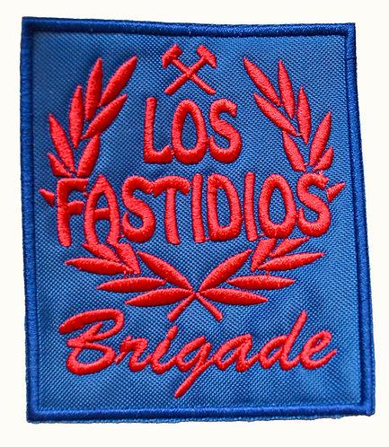 LOS FASTIDIOS BRIGADE Blue / Red - Patch / Toppa
