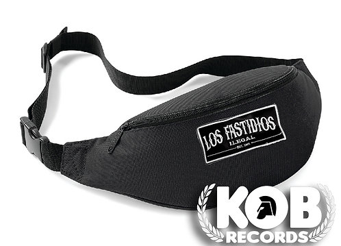Belt Bag / Marsupio LOS FASTIDIOS ILEGAL Black