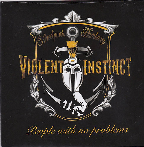 """VIOLENT INSTINCT - People With No Problems EP 7"""""""