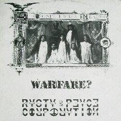 WARFARE? / RASTA & PEACE CORPORATION - Ai Confini Della Realtà LP