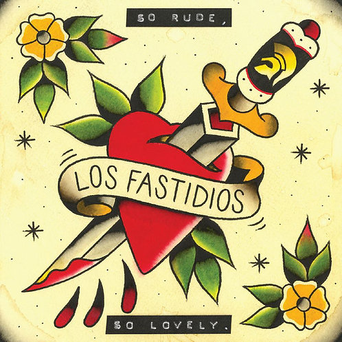 LOS FASTIDIOS - So Rude, So Lovely CD