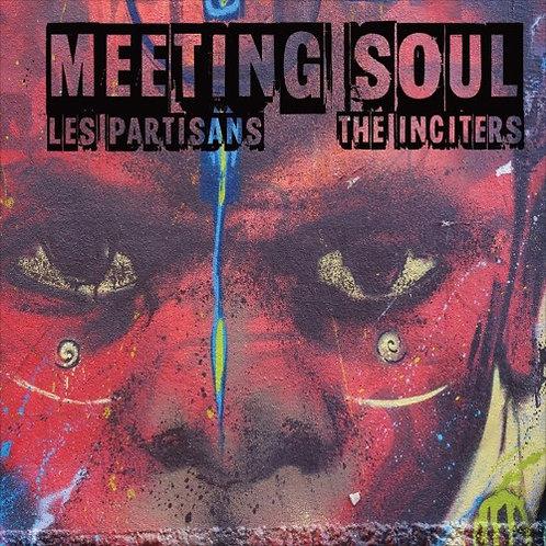 """LES PARTISANS / THE INCITERS - Meeting Soul EP 7"""""""