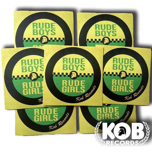 RUDEBOYS RUDEGIRLS (30 Stickers)