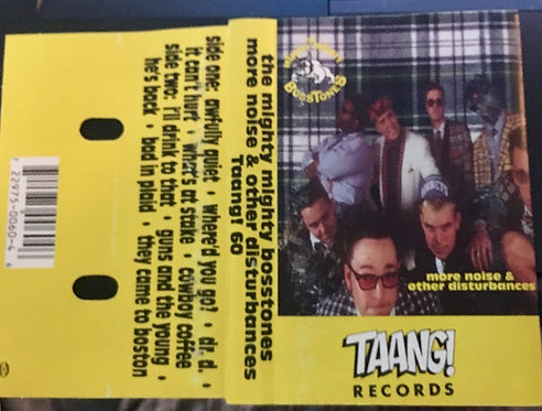 MIGHTY MIGHTY BOSSTONES (THE) - More Noise And Other Disturbances TAPE