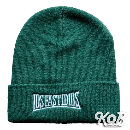 LOS FASTIDIOS Green Winter Cap