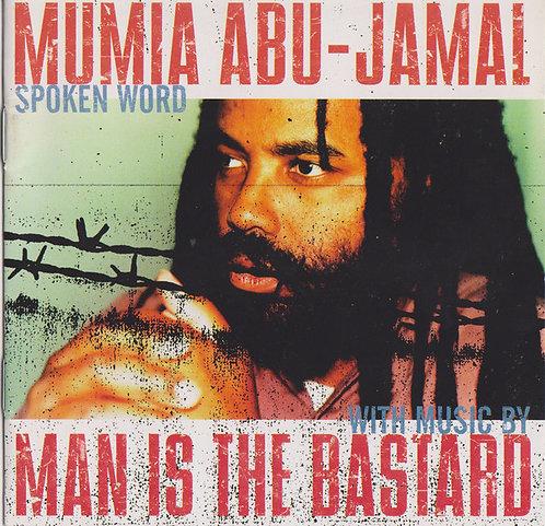 MUMA ABU-JAMAL / MAN IS THE BASTARD - Mumia Abu-Jamal Spoken Word... LP