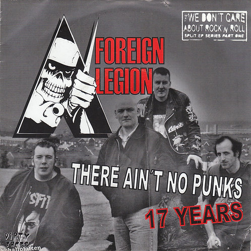 "FOREIGN LEGION / DISTRICT - District / Foreign Legion EP 7"" (Red)"