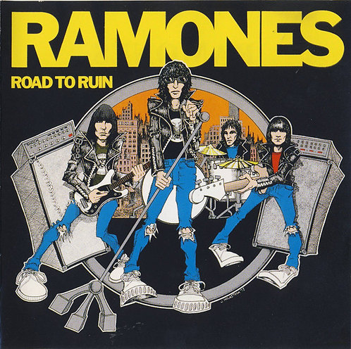 RAMONES - Road To Ruin CD