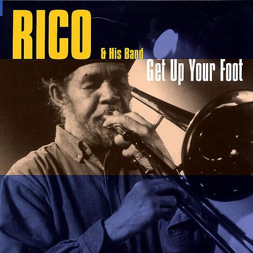 RICO & HIS BAND - Get Up Your Foot LP