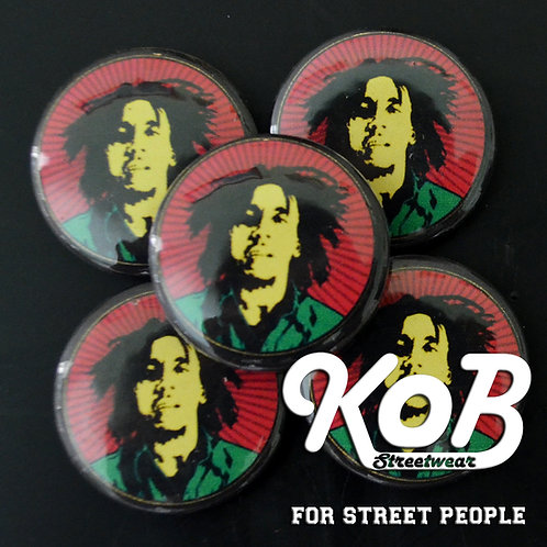 BOB MARLEY Button