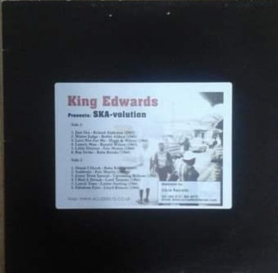 V/A KING EDWARDS PRESENT SKA-VOLUTION LP