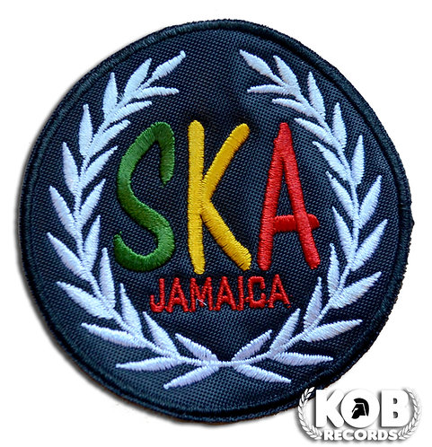 SKA JAMAICA Patch / Toppa