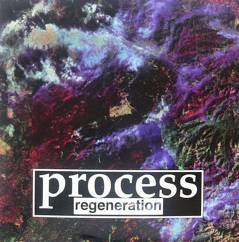 PROCESS - Regeneration LP (Half Blue, Half Red)