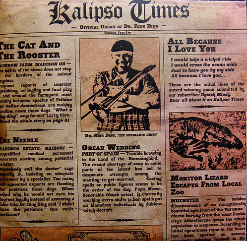 """DR. RING DING -  Kalipso Times 10"""""""