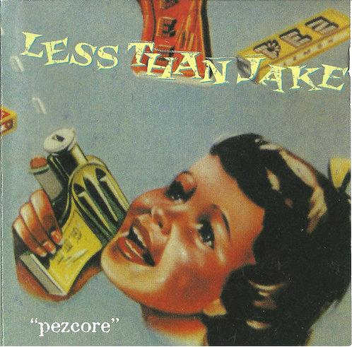 LESS THAN JAKE - Pezcore CD