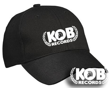 KOB RECORDS Cap Black